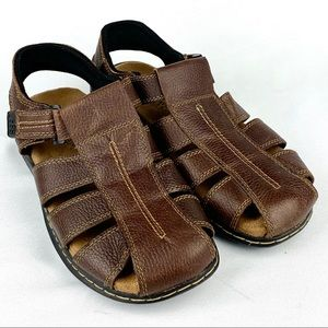 Dr. Scholl's | Leather Memory Fit Foam Sandals